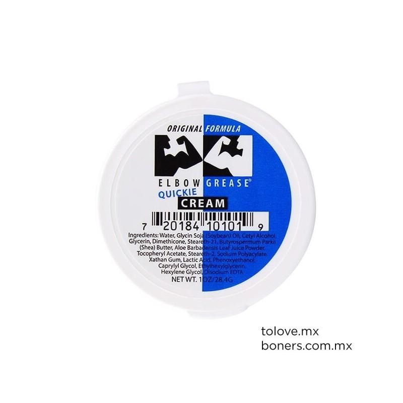 Crema Dilatadora para Fisting | Elbow Grease Quickie Original Formula | Envíos a todo México