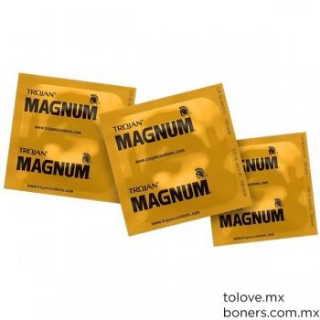 Venta de condones Trojan Magnum | Sex shop en línea | Compra Segura | Envío a CDMX y toda la República Mexicana