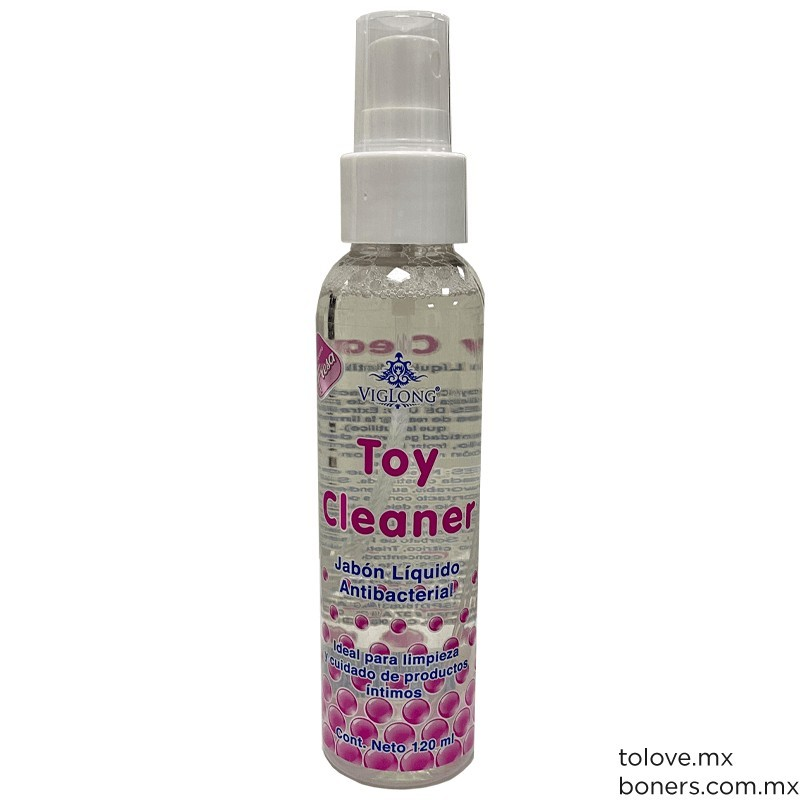 Sexshop México | Spray Desinfectante de Juguetes Sexuales | Toy Cleaner | Envíos el mismo día en CDMX