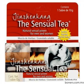 Sexshop México | Comprar The Sensual Tea | Té vigorizante para prolongar la excitación sexual | Envíos a todo México