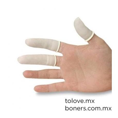 Dedal de látex   Sex Shop en Línea   Compra Segura   Envíos a CDMX y toda la República Mexicana