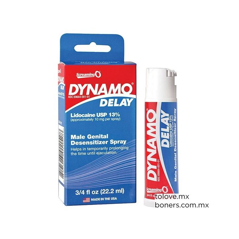 Sexshop online, en venta Spray Retardante Dynamo Delay. Compra Segura. Envío CDMX y República Mexicana