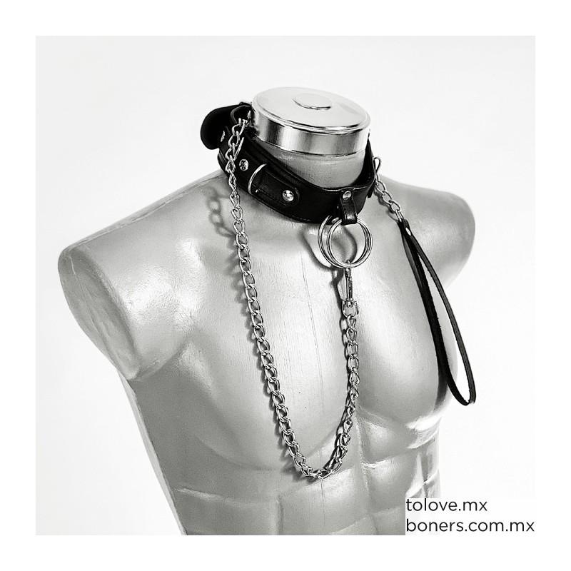 Sex Shop en Línea | Precio de Collar de Picos Bondage Sado Maso | Compra Segura | Envío CDMX y toda la República Mexicana